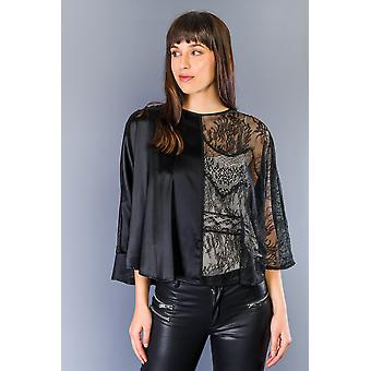 Dames Twinset Zwart Shirt