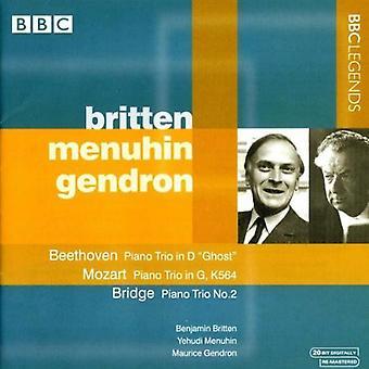 Beethoven/Mozart/Bridge - Beethoven, Mozart, Bridge: Piano Trios [CD] USA import