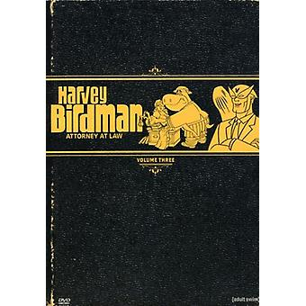 Harvey Birdman Attorney at Law Vol. 3 [DVD] USA import