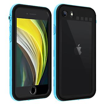 Protective Case for Apple iPhone SE 2020/8/7 Waterproof Screen protector Blue