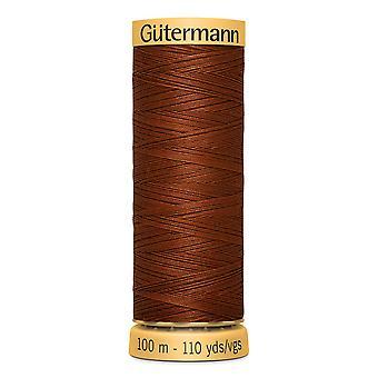 Gutermann 100% Natural Cotton Thread 100m Código de Cor da Mão e da Máquina - 2143