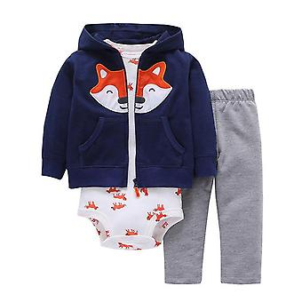 Baby Jacket, Bodysuit And Pants Outfit , Design 15