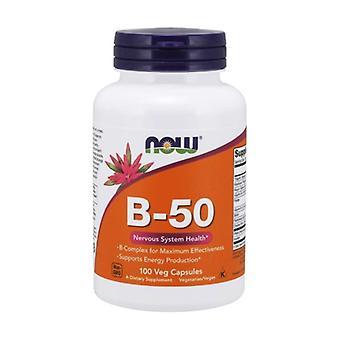 Vitamin B-50 100 vegetable capsules