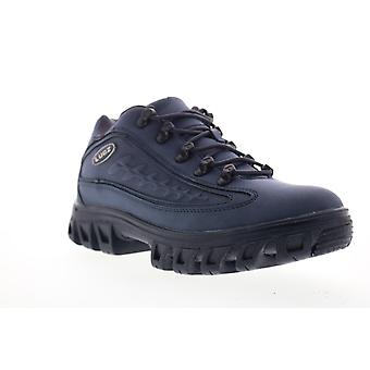Lugz Dot.Com 2.0  Mens Blue Synthetic Low Top Sneakers Shoes