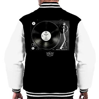 DJ International Records Turntable Men's Varsity Jacket
