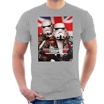 Alkuperäinen Stormtrooper alkuun Trooper parodia miesten ' s T-paita
