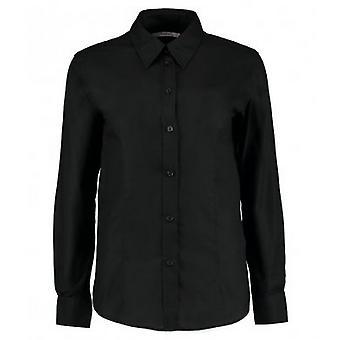 Kustom Kit Womens/Ladies Workplace Long Sleeve Oxford Blouse
