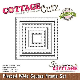 Scrapping CottageCutz Percé Wide Square Frame Set (Basics) (CCB-030)