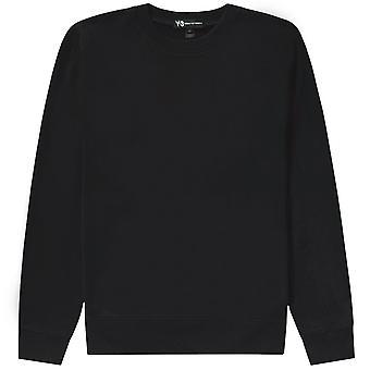 Y-3 Reverse Logo Sweatshirt Schwarz