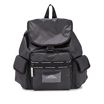 Marc Jacobs M0016263001 Women's Black Polyurethane Backpack