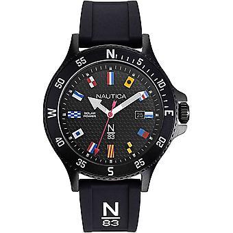 NAPCBS907, Náutica Cocoa Beach Relojes para Hombre -Negro