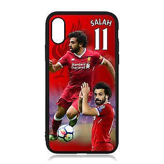 iPhone X és iPhone XS shell Salah Liverpool dizájnnal