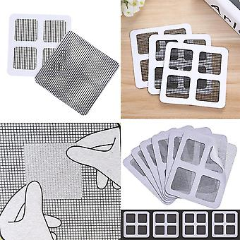 Anti Insect Adhesive Window Repair Screen/wall Patch Stickers 5 Pack - Mesh