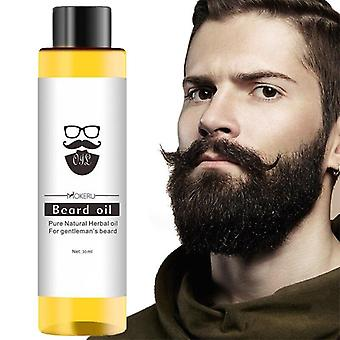 100% Organic Beard Oil Hair Loss Spray - Men Beard Grow Essencial Oil