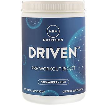 MRM, DRIVEN, Pre-Workout Boost, Strawberry Kiwi, 12.3 oz (350 g)