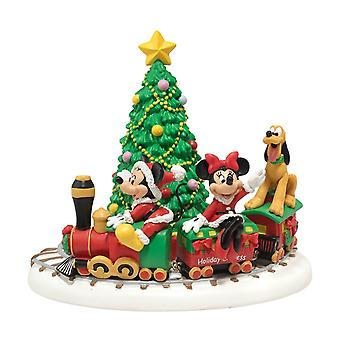 Disney Mickey's Holiday Express Statue Collectible