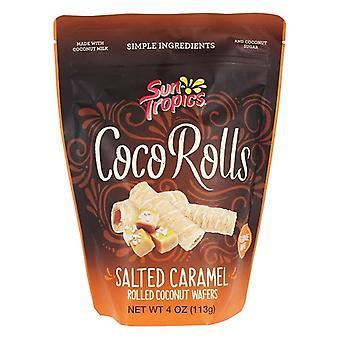Sun Tropics Glúten Free Coco Rolls Caramelo Salgado