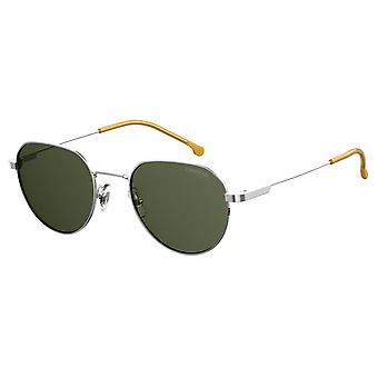 Sunglasses Unisex 2015T/S silver with green glass