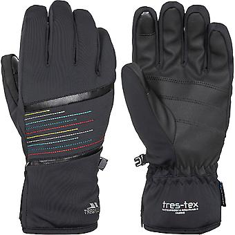 Trespass Womens Kay Lightly Padded Elasticated Ski Gloves