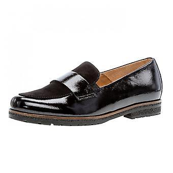 Gabor Elder الذكية عارضة واسعة تناسب أحذية المتسكع في عدم الأسود