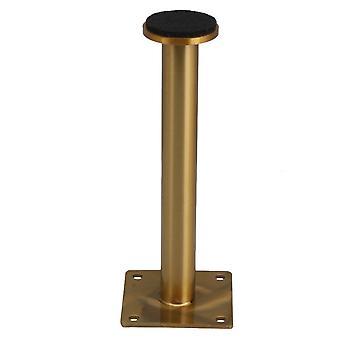 Ruostumaton teräs säädettävä pöytäjalka 6 x 16cm titaani