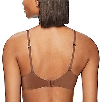 Brand - Mae Women's Wireless T-Shirt Bra, Mocha, 32B