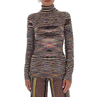 Missoni Mdn00394bk00nrsm33z Women's Multicolor Wool Sweater