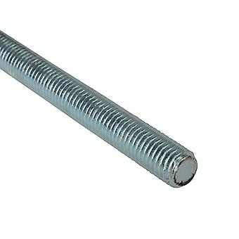 Forgefix Threaded Rod Zinc Plated M16 x 1m Single FORROD16
