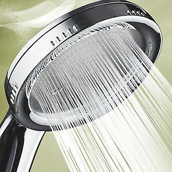 Hoge druk waterbesparende regenval Chrome Douchekop Nozzle