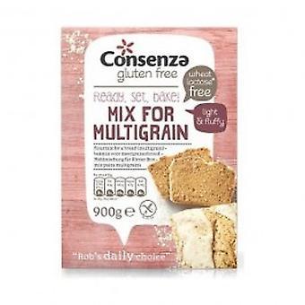 Consenza GF Multigrain Bread Flour - Consenza GF Multigrain Bread Flour