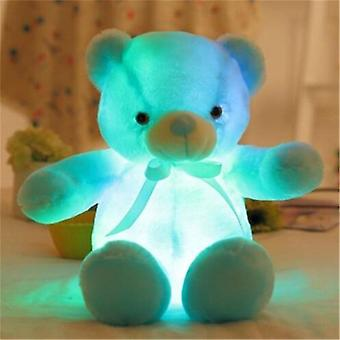 30-80 Cm Luminous Light Up Led- Teddy Bear Stuffed Animals Plush Toy Colorful Glowing Christmas Gift For Kids