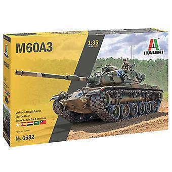 Italeri 6582 M60A-3 Tank 1:35 Kunststof Model Tank Kit