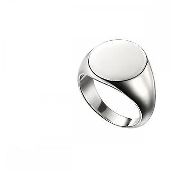 بدايات الجنيه الاسترليني الفضي البيضاوي Signet Ring R3711