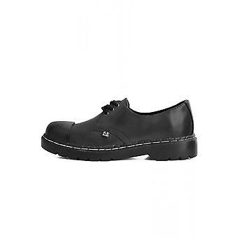 TUK Shoes 1991 Original Steel Toe Black Shoe