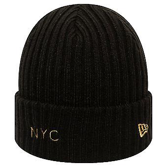 New Era NYC Knit Beanie - Black