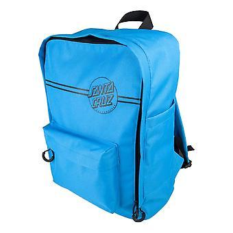 Santa Cruz Opus Dot Stripes Backpack - Cyan Blue