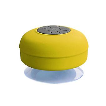 Waterproof  Mini Wireless Bluetooth Speaker Hands Free  Stereo Subwoofer Music Loudspeaker With Suction