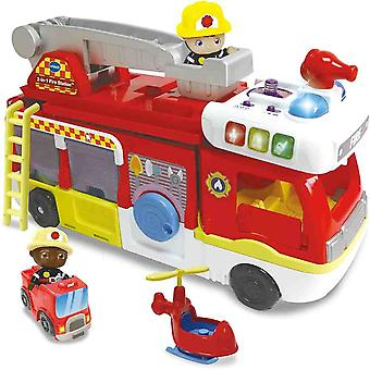 vtech toot-toot friends™ 2-in-1 fire station for children and toddlers over 24