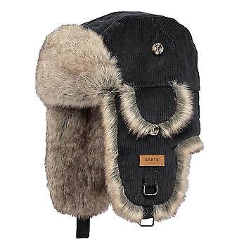 Barts Rib Bomber Hat - Black