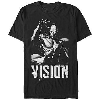 Black and White Vision Marvel Comics Camiseta
