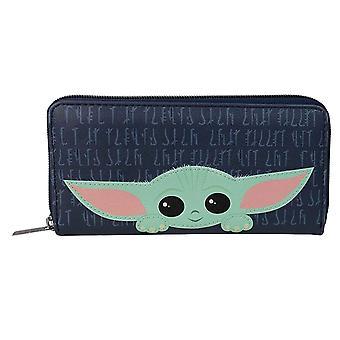 Mandalorian kukkaro Lapsi tämä on hyvä puoleni Baby Yoda uusi virallinen sininen