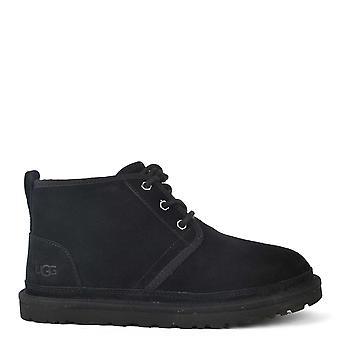 UGG Men's Neumel Black Suede Boots