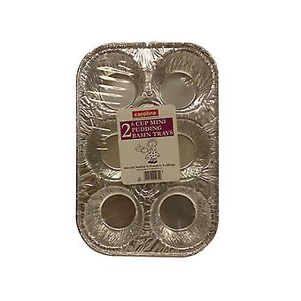 Caroline Folie Mini Pudding Becken Tablett x 2 1026