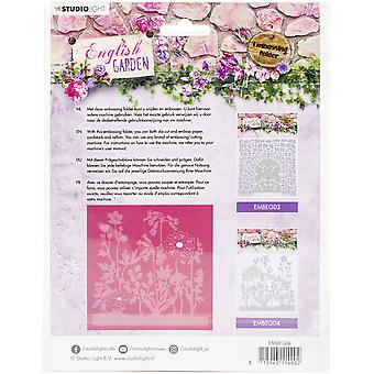 Studio Light English Garden Embosseng Folder Die Cut-NR. 04