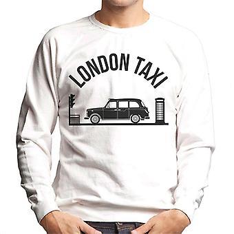 London Taxi Company TX4 Vid trafikljus Män's Sweatshirt