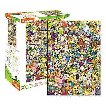 Nickelodeon 90's collage 3000pc puzzle