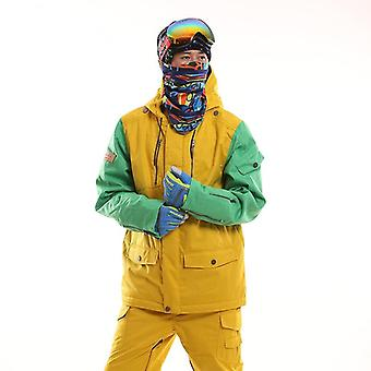 Vestes d'hiver Hommes Outdoor Thermal Waterproof Compressed Snowboard Clothes