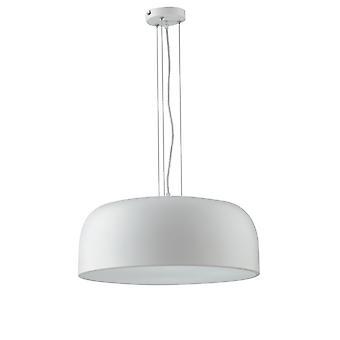Koepel plafond hanger, wit, wit, E27