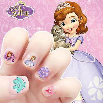 Mickey Minnie  Mouse Makeup Toy Nail Stickers Toy  Disney Princess  Sticker