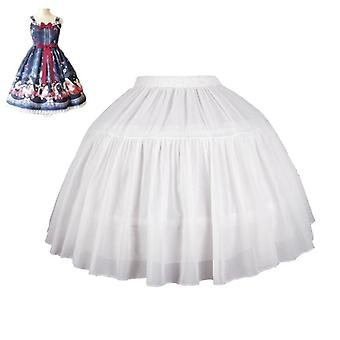 Women's's Lolita Petticoat Bridal Cosplay Party Prom Dress Short Underskirt